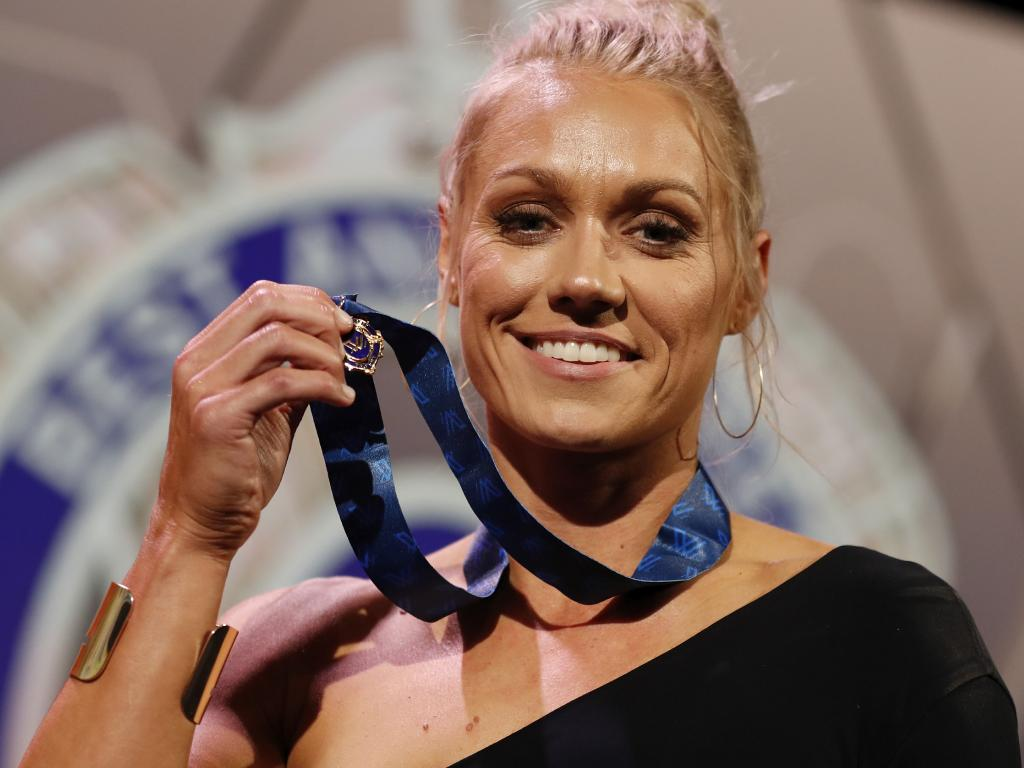 Erin Phillips faces a long road of rehab.