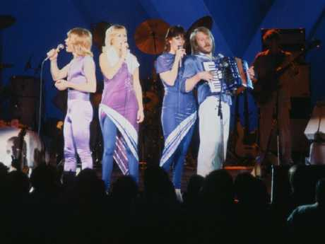 ABBA on stage. Picture: Supplied