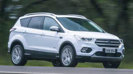 Ford will also release a plug-in hybrid version of the Escape in Australia. Picture: Thomas Wielecki.