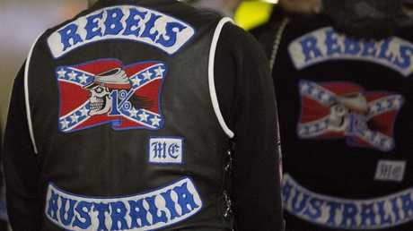 """McKay has no respect for bikies, saying they """"dress up like clowns"""". File picture"""