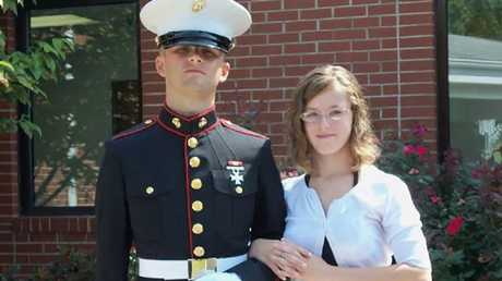 The couple's 'friendship' with Chris would cost Erin her life. Picture: Heavlin Family/NY Post
