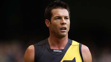 Ben Cousins in action for Richmond in 2010. Picture: Scott Barbour/Getty Images