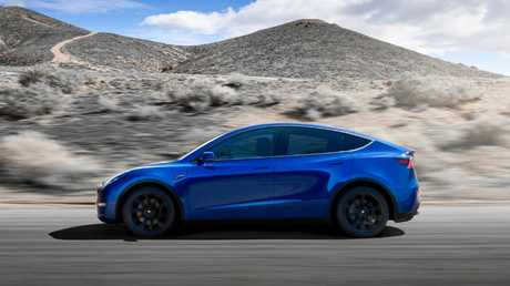 Electric vehicles such as Tesla's Model Y will place strong demands on the electricity grid if sold in large numbers.