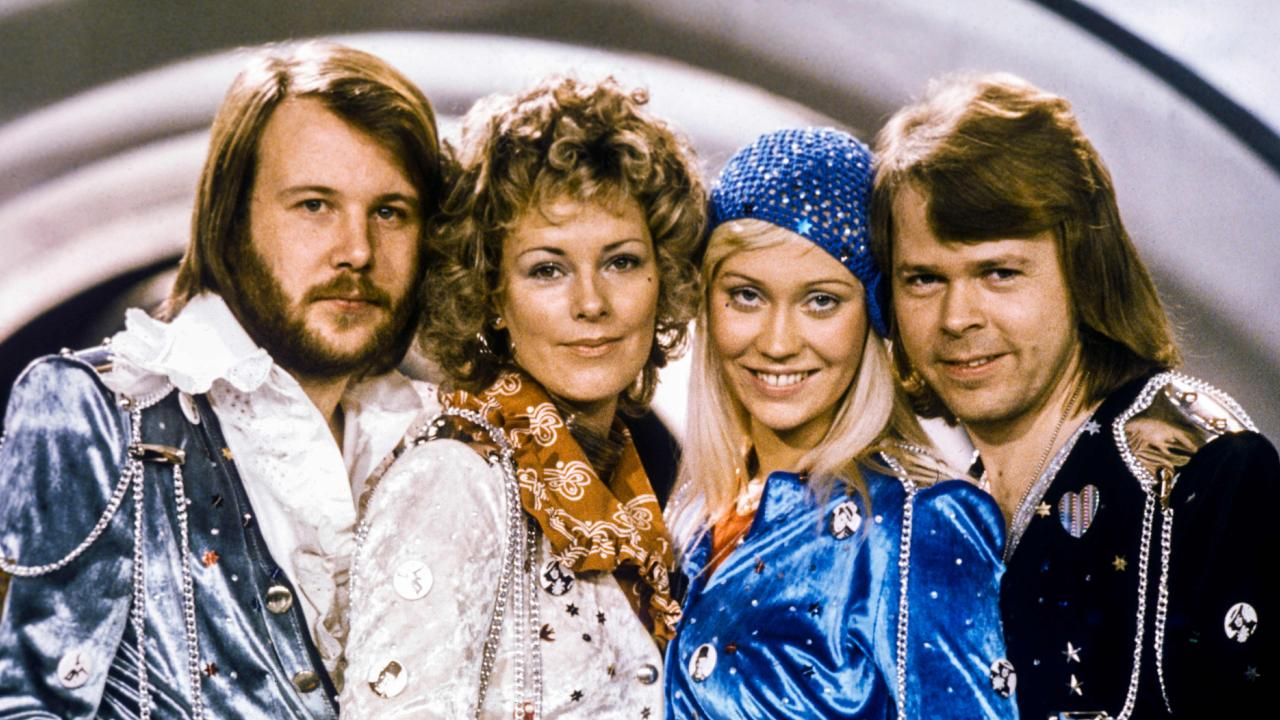 ABBA, pictured in 1974, are returning with new music. Picture: AFP