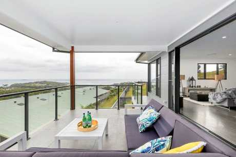 The Aspect Blue Ribbon display home The Summit