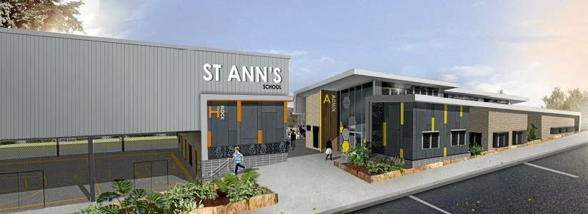 ON THE WAY: An artist's impression of St Ann's School at Redbank Plains, which is set to open next year.