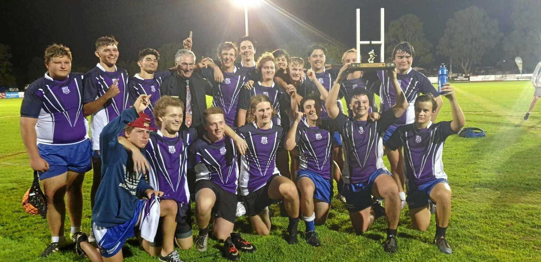 WINNERS: Aldridge State High School Open Boys - Broncos Challenge Champions.