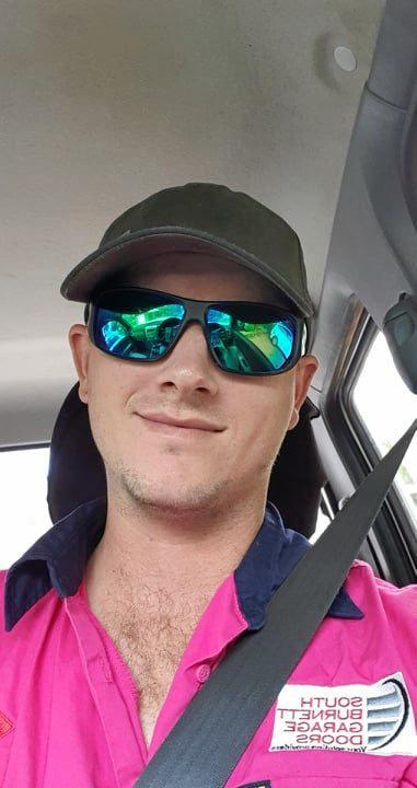 ROLLING: Steven Vreeken from South Burnett Garage Doors.