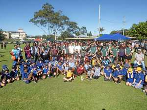 NRL stars in Maclean to help spread important message