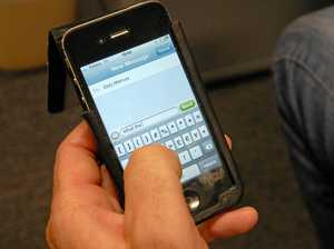Text threats to destroy house land man in court