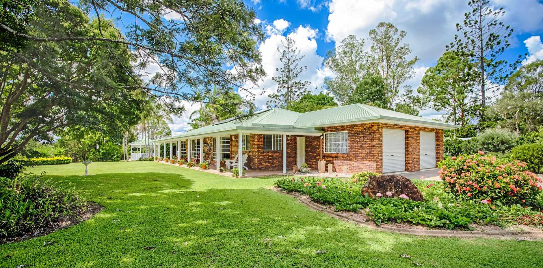 STYLISH PROPERTY: 25 Silky Oak Drive, Nahrunda is up for viewing this weekend.