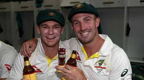 Handscomb and Marsh have enjoyed success together at Test level in the past.