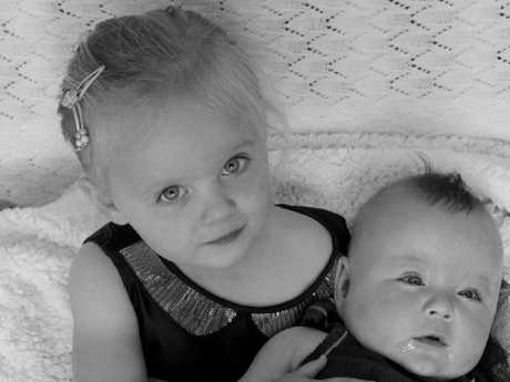 Lara Whitaker, 2, suffered critical injuries. Her brother Josh, 1, was hospitalised with non life-threatening injuries.