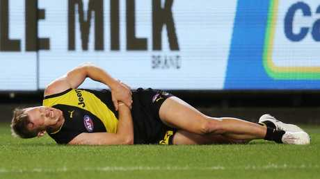 The Tigers acknowledge they cannot replace Jack Riewoldt. Picture: Getty Images