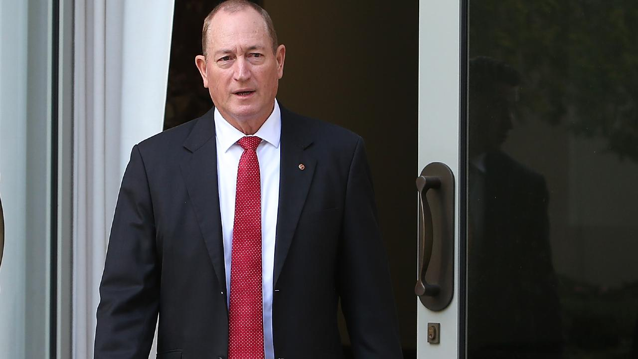 Senator Fraser Anning. Picture: Kym Smith