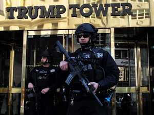 Trump Tower residents' 'living hell'