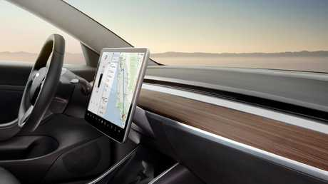 Tesla records and stores a lot of personal data that isn't wiped when the car is written off. Picture: Supplied.