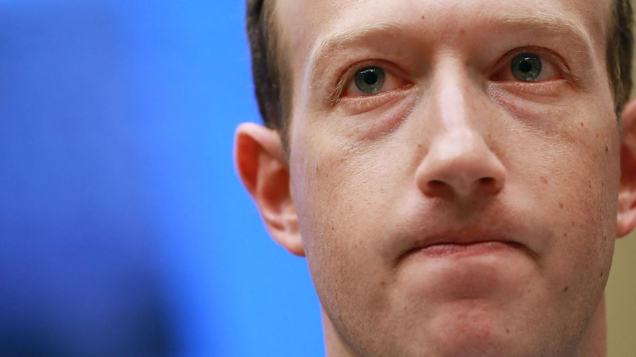 Facebook co-founder, Chairman and CEO Mark Zuckerberg is facing another data leak. Picture: Getty