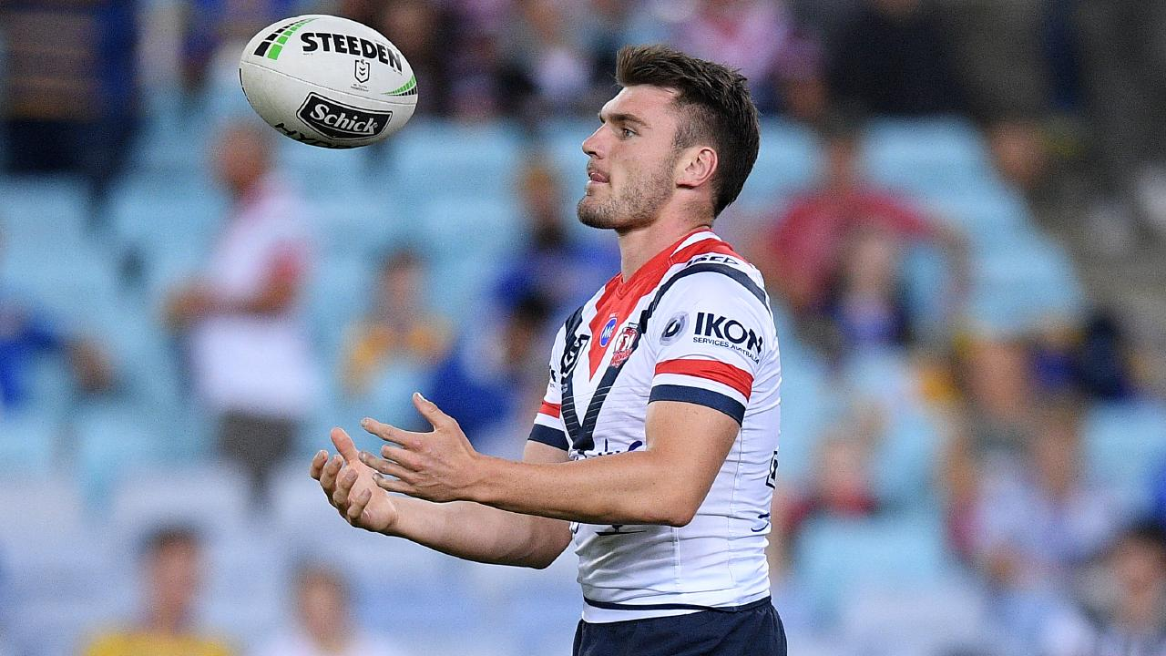 Angus Crichton is set to start for the Roosters. Picture: AAP
