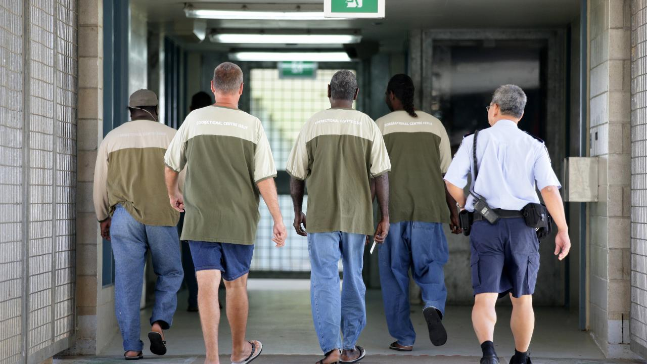 Prisoners inside Lotus Glen Correctional Centre. The facility holds approximately 870 prisoners. Picture: Marc McCormack
