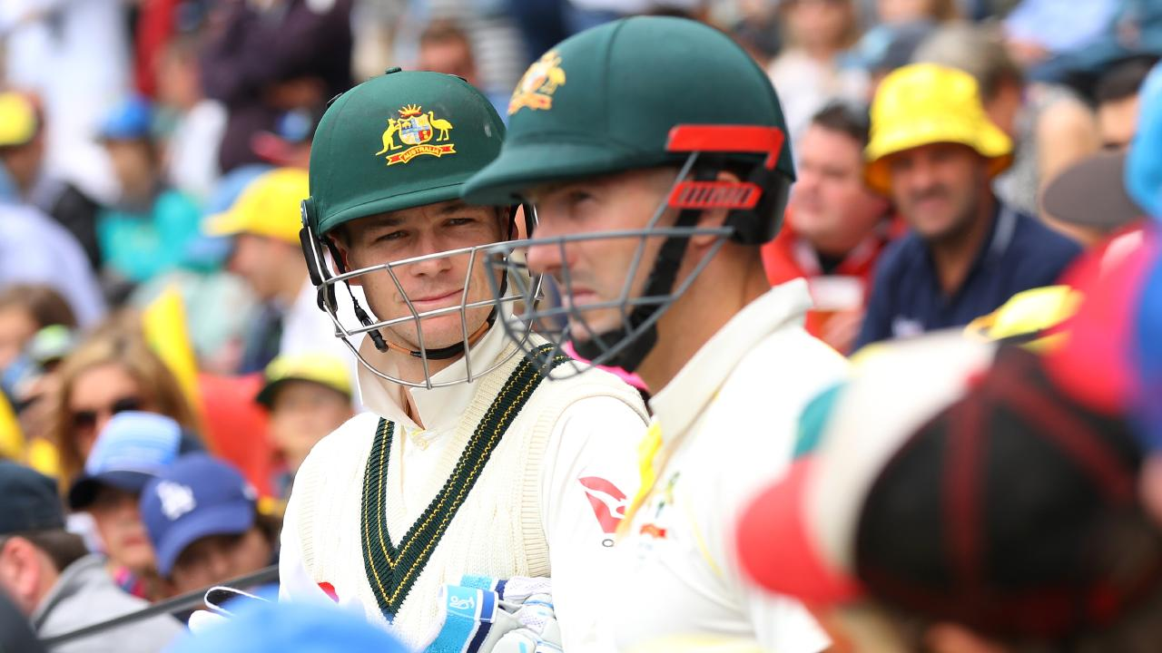 \Peter Handscomb and Shaun Marsh are rivals for a place in Australia's World Cup squad.