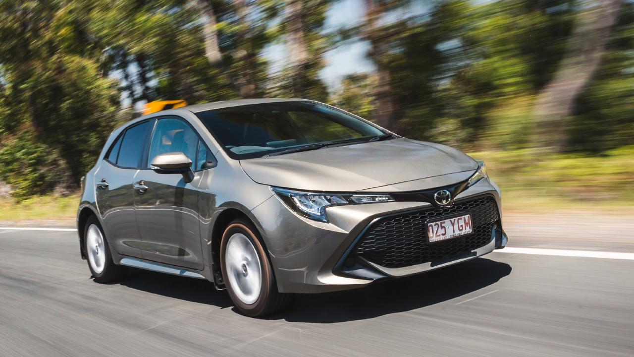 Toyota's new Corolla is attracting fewer buyers than its predecessor. Picture by Thomas Wielecki