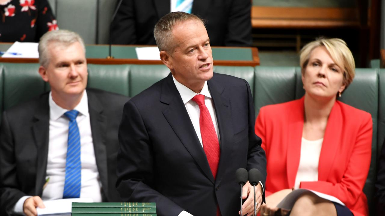 Opposition Leader Bill Shorten gave his Budget Reply. Picture: Tracey Nearmy