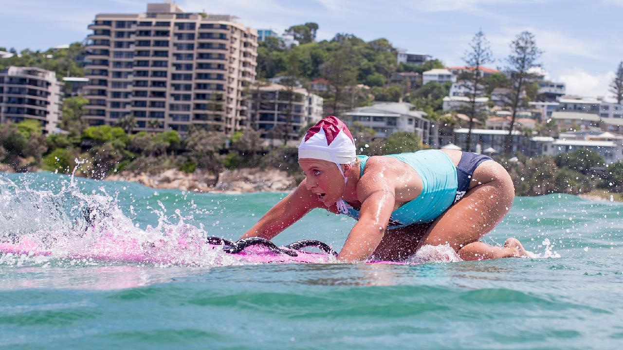 Georgia Miller in action during last year's series. Picture: Trent Callaghan