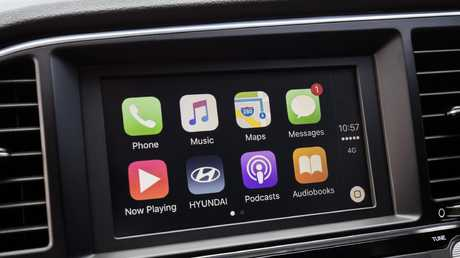 Toyota has resisted fitting Apple CarPlay to its vehicles because of concerns over data collection. Picture: Supplied.