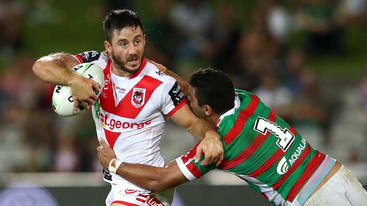 Ben Hunt needs to keep appearing for Queensland to keep the bank balance up. Picture: Cameron Spencer/Getty Images