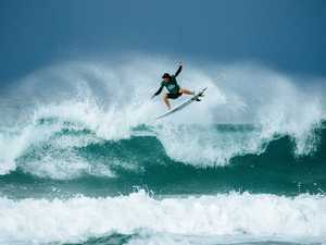 Coast teenager knocks Wilson out of Quiksilver Pro