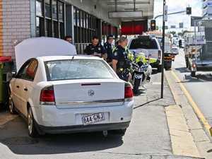 CBD pursuit ends in arrest