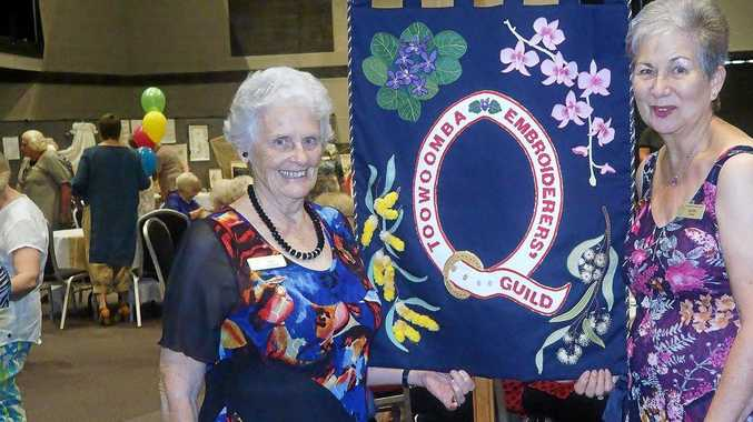 Left: Fay Graham and Kathy Chase received life membership at the 50th anniversary celebrations.