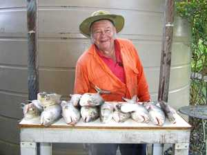 Keen fisherman could always muster lunch for his family