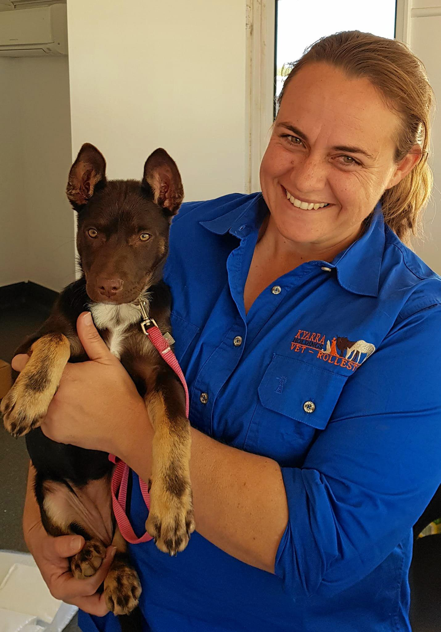 DISCOUNTED PET CARE: Vet Nikki Green  is backing a program to increase responsible pet ownership in the Central Highlands.