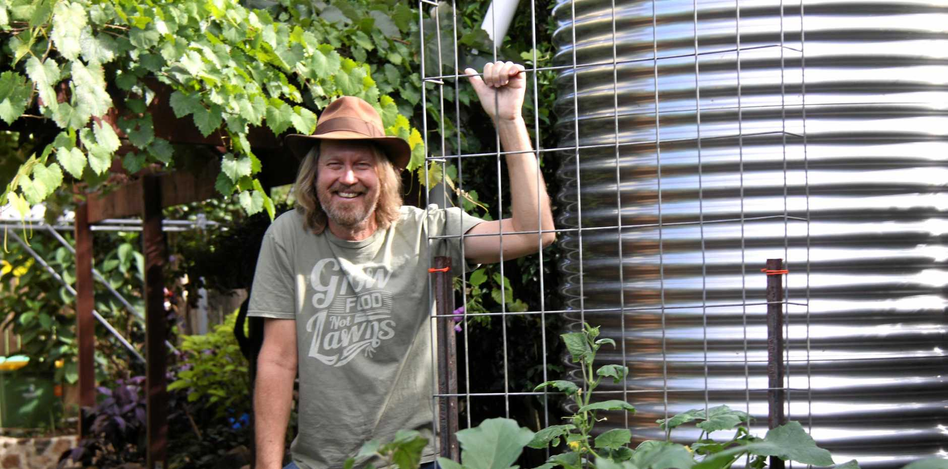 ORGANIC WORKSHOPS: Gardening Australia presenter and writer Phil Dudman is hosting a series of organic workshops at his own Lismore patch to show people how to grow their own delicious fruit and vegetables.