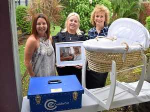 A cot to help parents grieve