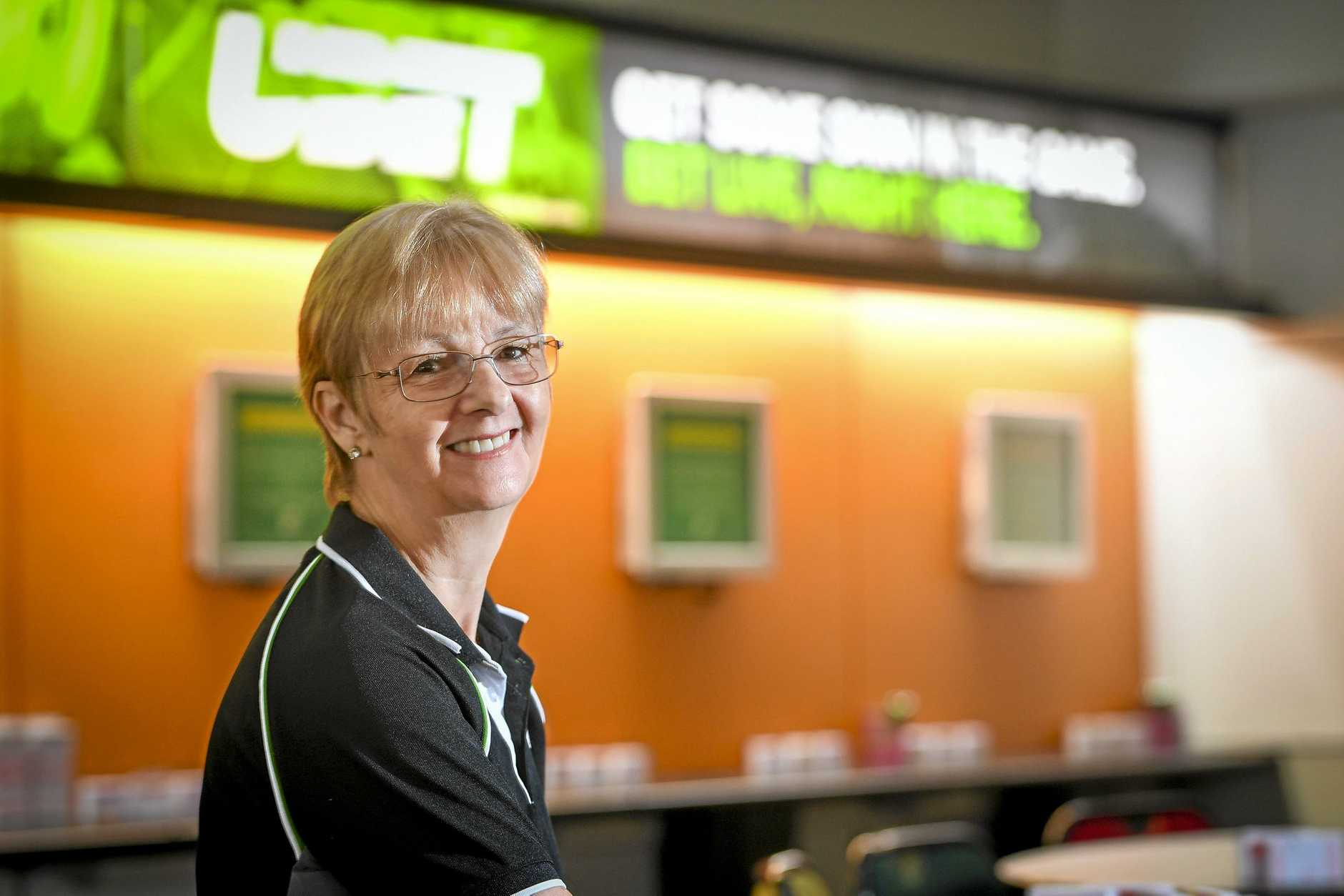 ALL BETS OFF: Alison Harrington has operated Gladstone's Dawson Rd TAB agency since December 1998. She  is sad it will close on May 29 but has many fond  memories.
