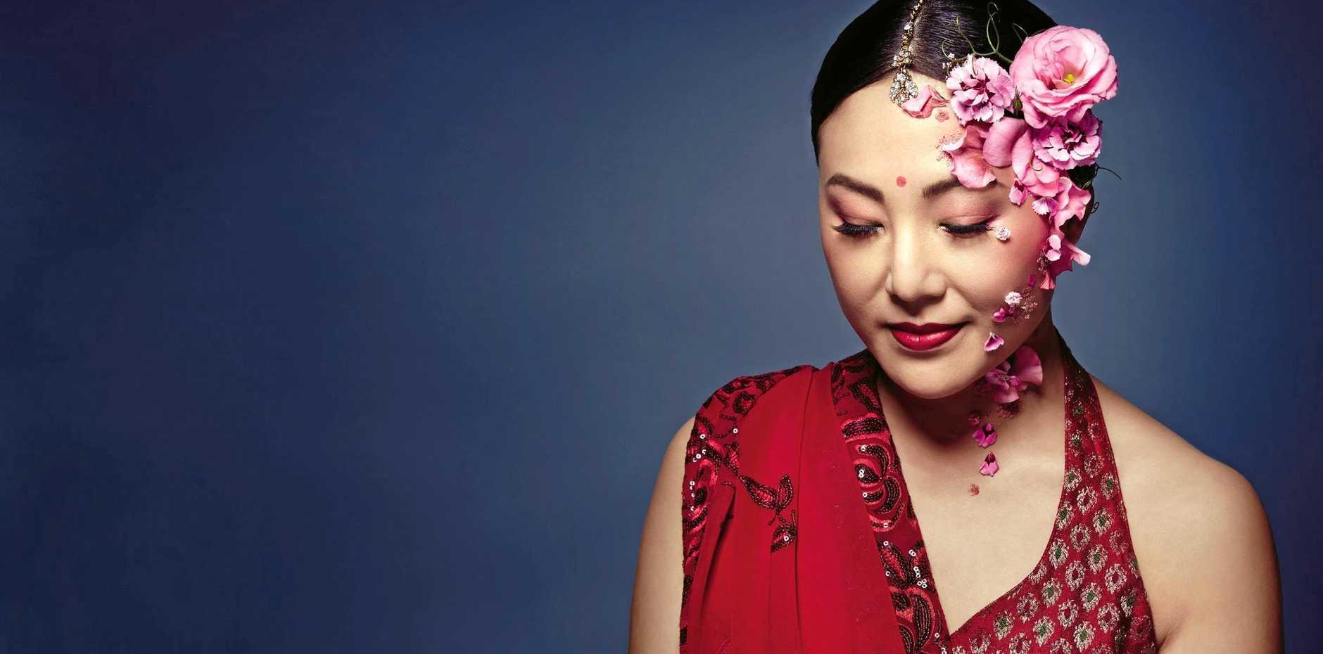 Eva Kong in Opera Queensland's A Flowering Tree