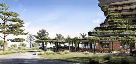 VISION: The new $250 million Aria development proposed to transform Mooloolaba.