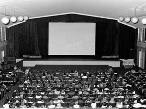 When motion pictures came to Nambour town
