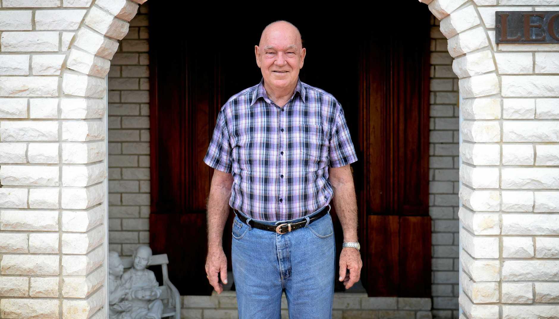 Jim Webber is well and back in Rockhampton. Photo Allan Reinikka / The Morning Bulletin