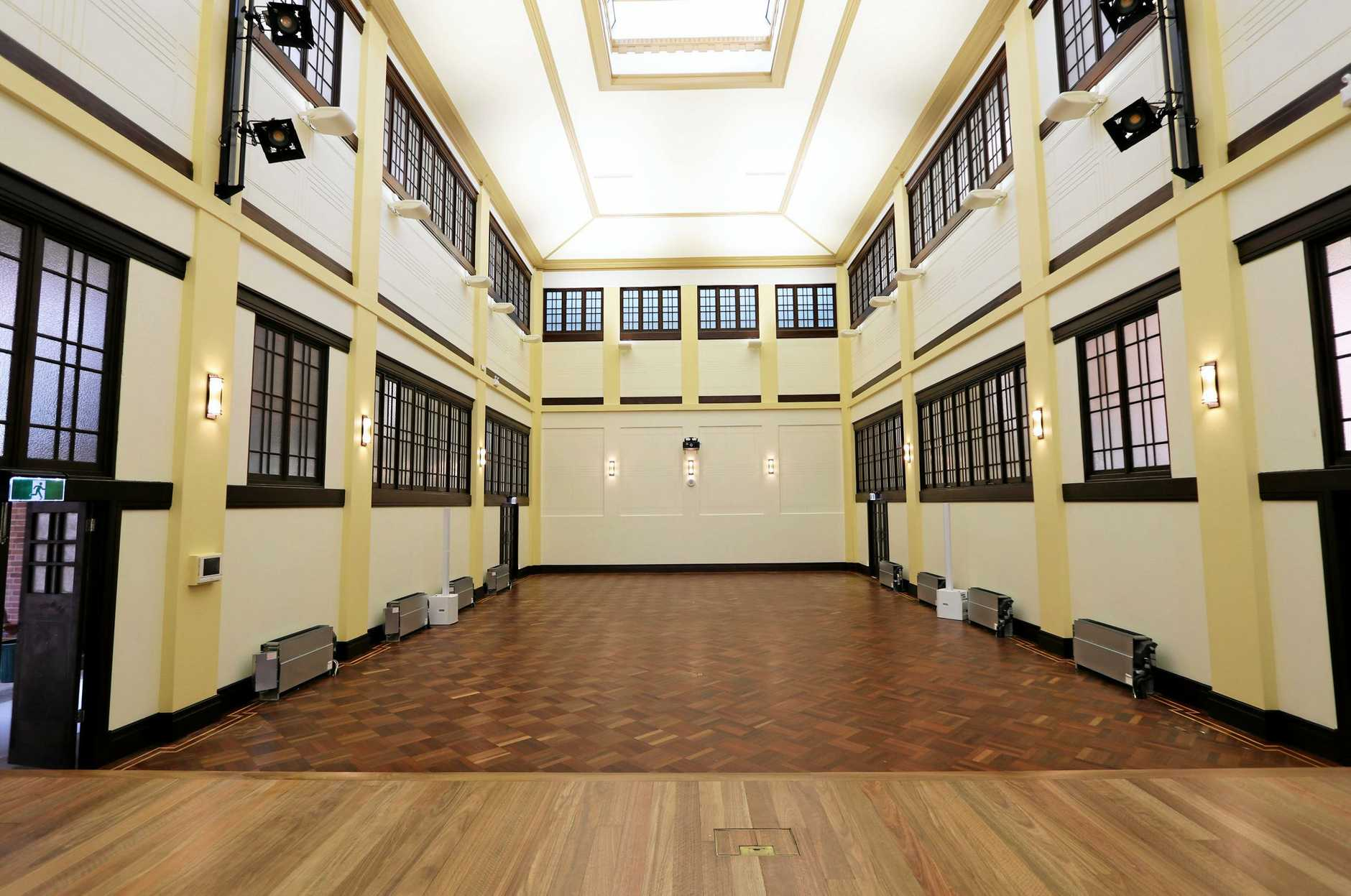 The restored City Hall reception room will be named in honour of former Rockhampton mayor Jim Webber.
