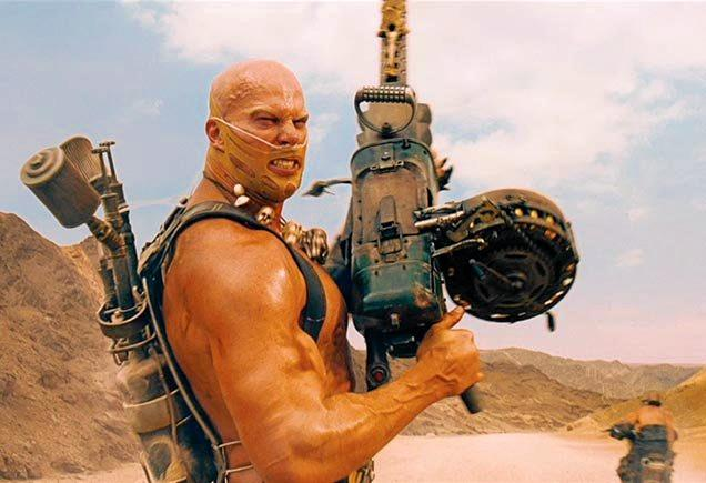 Nathan Jones in Mad Max: Fury Road.
