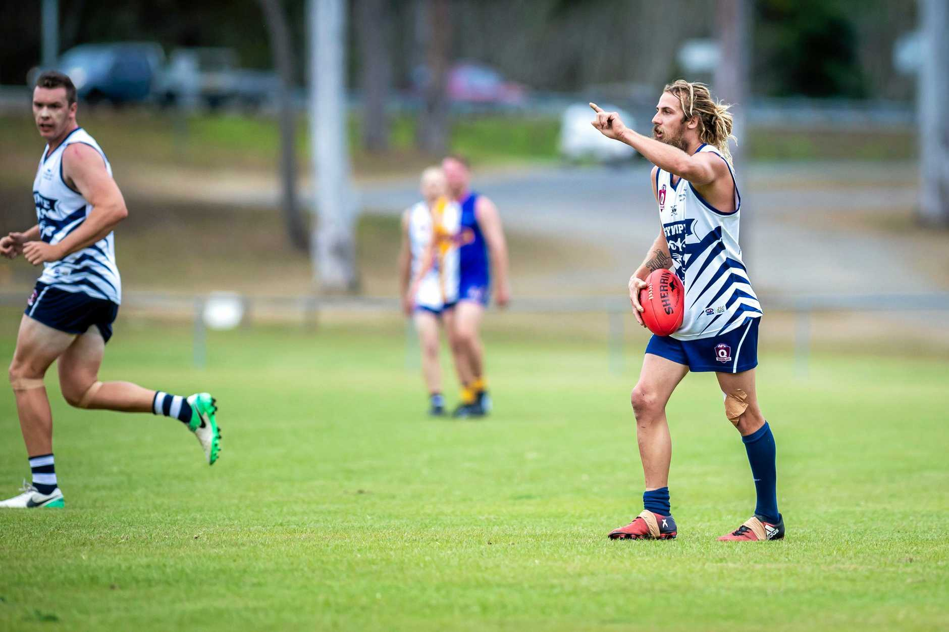 AFL - Gympie Cats vs Across the Waves Bundaberg FC - Lanze Magin Cats