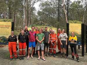 Lost backpackers rescued in perilous conditions