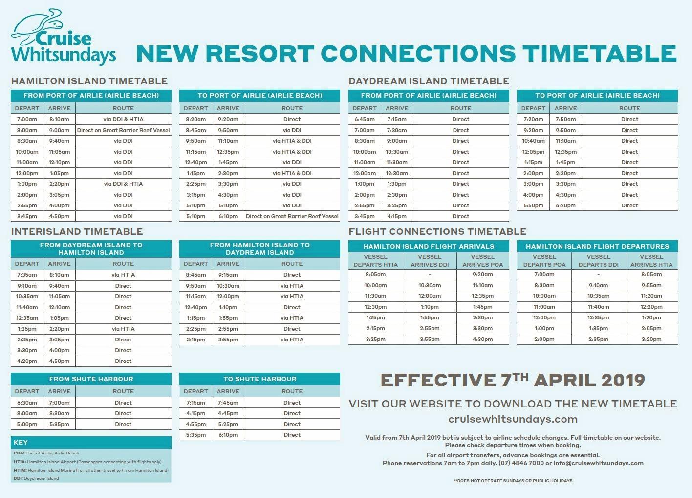 Cruise Whitsundays to embark on new timetable | Whitsunday Times