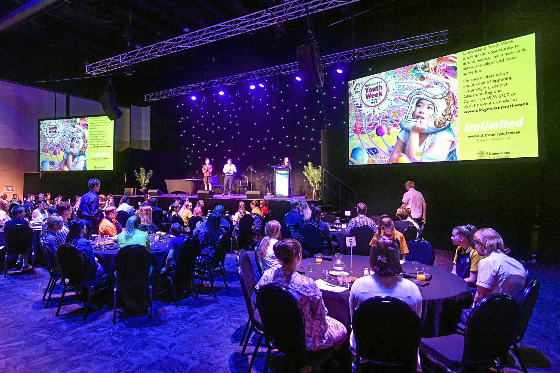 The Mayor's Youth Breakfast, 2019 was held at Gladstone Entertainment Convention Centre.