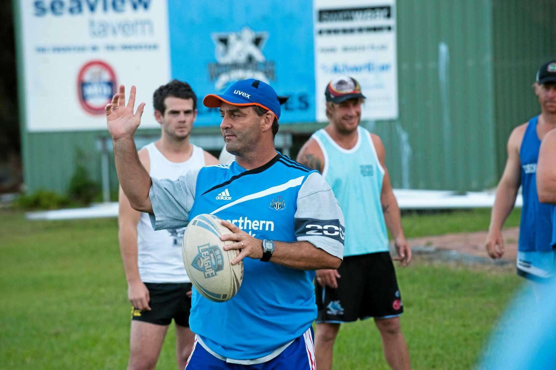 Woolgoolga seahorses training(league).Coach Greg ShuttleworthPhoto Trevor Veale / The Coffs Coast Advocate