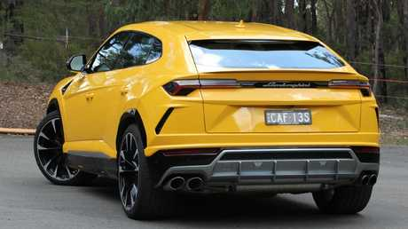 Urus: Head-turning styling and, among crossovers, unmatched driving focus